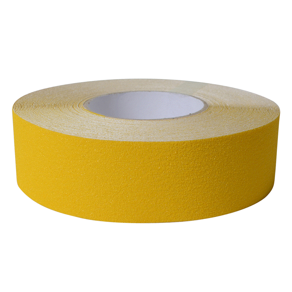 Nosing Tape Carbtech 50mm x 18.3m Yellow